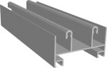 C640/01X Профиль рамы верхний