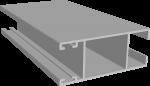 C640/10L Профиль створки боковой, облегчённый