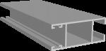 C640/10X Профиль створки боковой