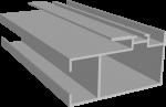 C640/11L Профиль створки центральный, облегчённый