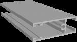 C640/12X Профиль створки низ-верх