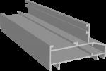 C640/35X Профиль рамы широкий 37х60 мм