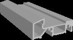 Порог алюминиевый (R) 58 мм