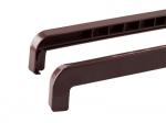 Торцевая заглушка на отлив 70-180 мм коричневая