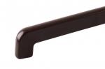 Заглушка на отлив 390 мм коричневая усиленная